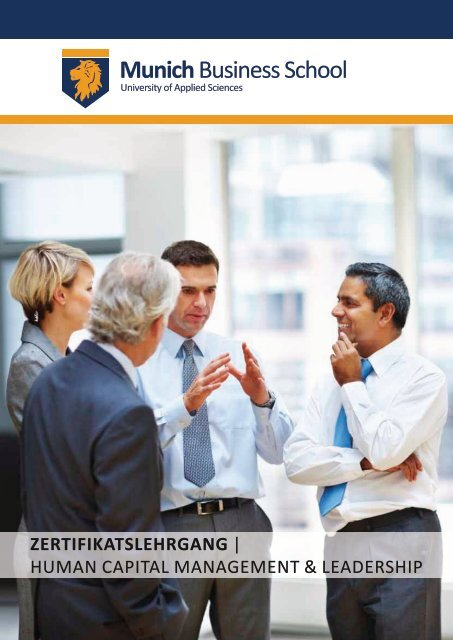 Human Capital Management & Leadership - Munich Business School