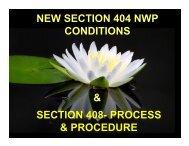 Section 408- process & procedure