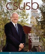 Tomás Morales - CSUSB Magazine - California State University ...