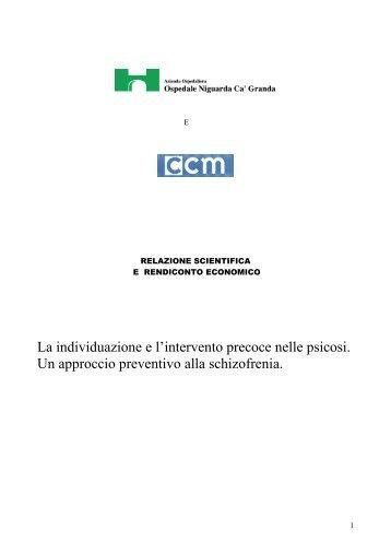 relazione finale - CCM Network
