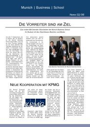 News 02/06 - Munich  Business School