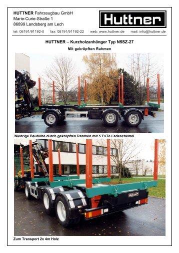 N5SZ-27 - Huttner Fahrzeugbau GmbH