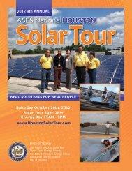 2012 9th ANNUAL - Houston Solar Tour