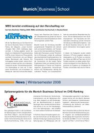 News - Munich Business School