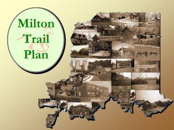 Milton Trail Plan - City of Milton
