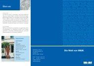 Die Welt von M&M. - M&M Militzer & Münch