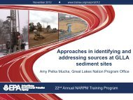 Approaches in identifying and addressing sources at ... - NARPM 2012