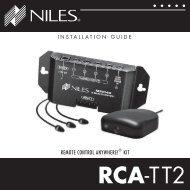 RCA-TT2 - Niles Audio