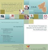 Patienten - Deutsche Stiftung für chronisch Kranke