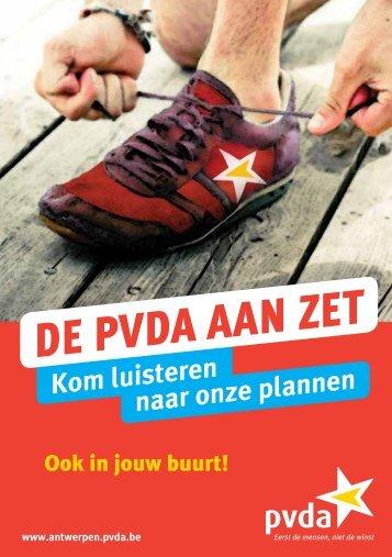 De PVDA AAn zet - PVDA Antwerpen