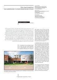Drie maal studiehuis Op studiebezoek in enkele ... - VVBAD