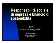 Luciano Hinna - Il Gruppo Hera