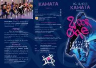 stage de danse & international dance shows 02/11/2013 - Kamata
