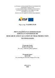 piena ražošanas tehnoloģiju izpēte un novērtējums = research and ...