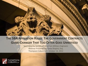 the government contracts game-changer that too ... - Directrouter.com