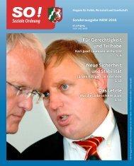 Sonderausgabe NRW 2010 - CDA Nordrhein-Westfalen