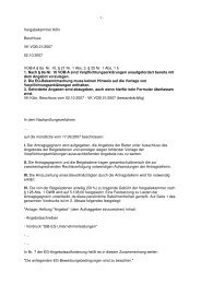 Vergabekammer Köln Beschluss VK VOB 21/2007 02.10.2007 VOB ...