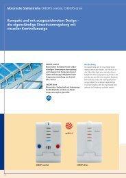 Applikationssoftware CHEOPS drive - Eibmarkt