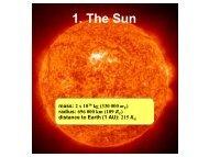 1. The Sun