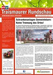 Traismaurer Rundschau - SPÖ Traismauer