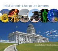 Federal Laboratories & State and Local Governments