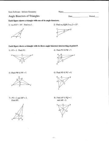 worksheet angle bisector worksheet hunterhq free printables worksheets for students. Black Bedroom Furniture Sets. Home Design Ideas
