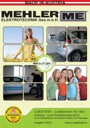 MADE IN AUSTRIA - Mehler Elektrotechnik Ges.m.b.H