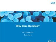 Why Care Bundles - Sonia Norris - HAI Watch