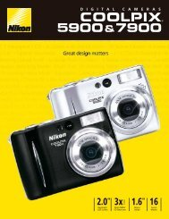 Coolpix 5900/7900 pamphlet