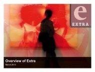 Extra Short Credentials - Fairfax Media Adcentre