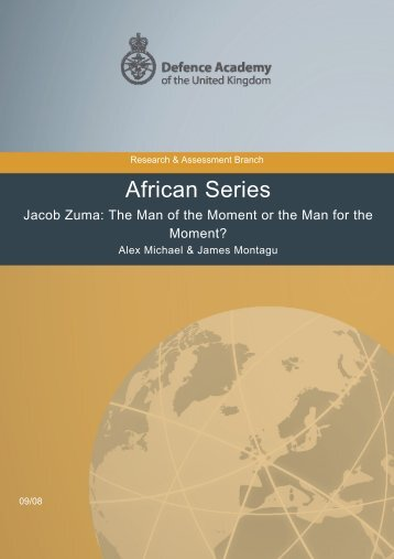 African Series - Defence Academy of the United Kingdom