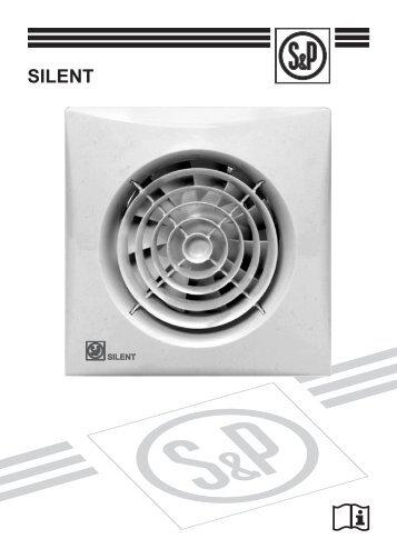 SILENT User Manual - Soler & Palau Sistemas de Ventilación, SLU