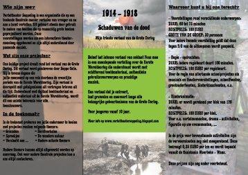Schaduwen van de dood - Erfgoedcel Waasland