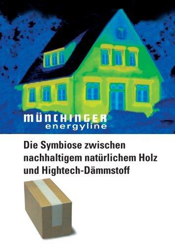 Münchinger energyline Die Antwort auf die Energieeinsparverordnung