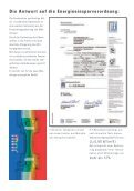 Münchinger energyline Die Antwort auf die Energieeinsparverordnung - Seite 2