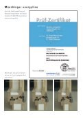 Münchinger energyline Die Antwort auf die Energieeinsparverordnung - Seite 3