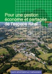 Charte Départementale D'aménagement - DREAL Basse-Normandie