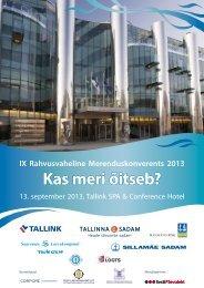 Konverentsi ajakava ja info siin
