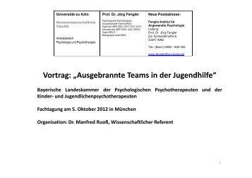 Vortrag Fengler - PTK Bayern