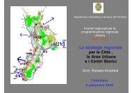 presentazione area urbana CZ - 9_sett_09 - Regione Calabria ...
