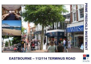 EASTBOURNE – 112/114 TERMINUS ROAD - Smith Price