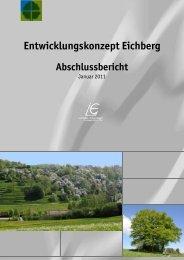 Entwicklungskonzept Eichberg - in Leinfelden-Echterdingen
