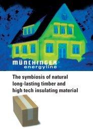 Münchinger energyline The answer to energy saving regulations