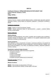 Cualificación Profesional en Operaciones Básicas de ... - Navarra