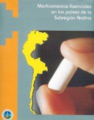 Medicamentos esenciales en los países de la Subregión