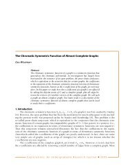 The Chromatic Symmetric Function of Almost Complete Graphs Gus ...