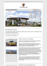 Ausgabe August 2009 - Porsche