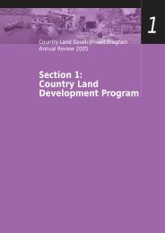 Country Land Development Program - Western Australian Planning ...