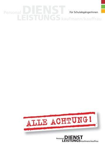 Zur Broschüre - Job AG
