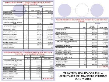 Descargar la rendición INFORME OFICINA DE TRÁNSITO 2013 ...